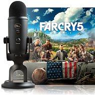 BLUE Yeti Blackout + Far Cry 5 - Stolný mikrofón