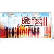 BALOUŠEK Business III. s poznámkami - Stolový kalendár