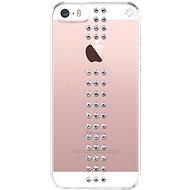 Bling My Thing Stripe Crystal pre Apple iPhone SE/5/5S - Ochranný kryt