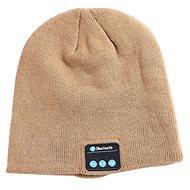 Beanie Bluetooth zimná čiapka khaki - Čiapka
