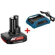 Bosch Wireless charging GBA 12 V W + GAL 1830 W Professional - Nabíjačka a náhradná batéria