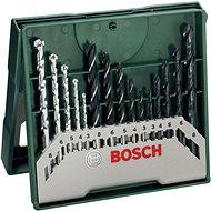 BOSCH 15 dielna súprava vrtákov Mini-X-Line mix - Sada vrtákov