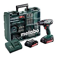 Metabo BS 18Li mobilná dielňa, 2 akumulátory - Akuvŕtačka