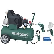 Metabo Basic 250-24 W + LPZ 4 Set - Kompresor