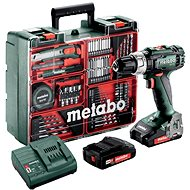 METABO SB 18 L Set MD 2× 2,0 Ah - Akuvŕtačka