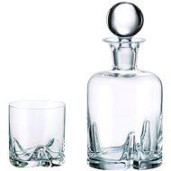 Bohemia Royal Crystal Whisky sada 7 ks TRIO - Sada pohárov