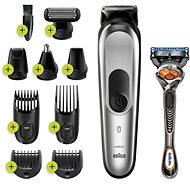 Braun MGK 7220 Metallic Silver - Zastrihávač vlasov a fúzov