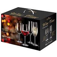 BOHEMIA ROYAL CRYSTAL Wine time sada 12 ks