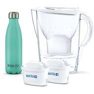 BRITA Marela biela vr. 2MXplus + termo fľaša - Filtračná kanvica