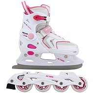 Action Girls 2 v 1 - Dievčenské korčule na ľad