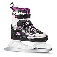 Fila X-One Ice G Black/Magenta - Detské korčule na ľad