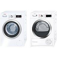 BOSCH WAW32540EU + BOSCH WTW85540EU - Set práčka a sušička