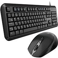 Eternico Essential  KD100CS + MSB300 čierny - Set klávesnice a myši