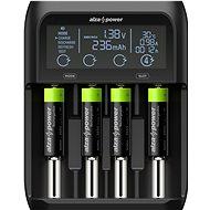 AlzaPower USB Battery Charger AP450B + Rechargeable HR6 (AA) 2500 mAh 4 ks - Nabíjačka batérií