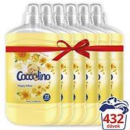 COCCOLINO Happy Yellow 6× 1,8 l (432 praní) - Aviváž