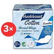 VUOKKOSET Cotton Normal Wings Thin 3× 12 ks