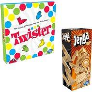Jenga + Twister
