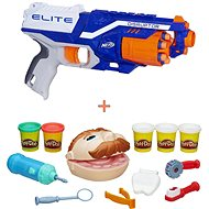 Nerf Elite Disruptor + Play-Doh – Zubár - Sada