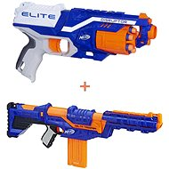 Nerf Elite Disruptor + Nerf Delta Trooper