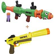 Nerf Fortnite Sneaky Springer + Nerf Fortnite RL