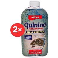 MILVA Chinin 2× 500 ml - Prírodný šampón