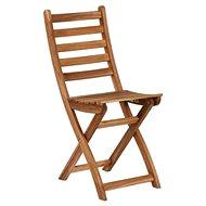LODGE Skladacia stolička prírodná - Záhradná stolička