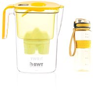 BWT VIDA žltá + outdoor sport bottle sunflower