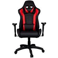 Herná stolička Cooler Master CALIBER R1, čierno-červené