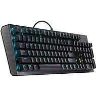 Cooler Master CK550, Red Switch, US layout, čierna - Herná klávesnica