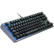Cooler Master CK530, RED Switch, US layout, čierna - Herná klávesnica