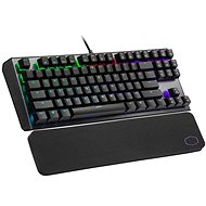 Cooler Master CK530 V2, BLUE Switch, čierna – US INTL - Herná klávesnica