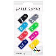 Cable Candy Tag 8 ks mix barev
