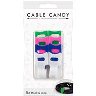 Cable Candy Hook and Loop 8ks mix barev