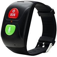 Canyon smart SOS náramok pre seniorov, čierny - Smart hodinky