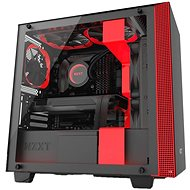 NZXT skriňa H400i - černo-červená