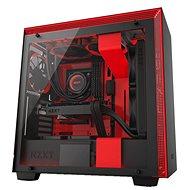 NZXT H700i čierno-červená - Počítačová skriňa