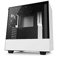 NZXT H500 biela - Počítačová skriňa