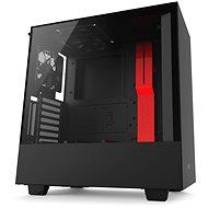 NZXT H500i čierno-červená - Počítačová skriňa