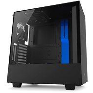 NZXT H500i čierno-modrá - Počítačová skriňa