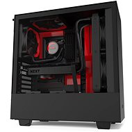NZXT H510 Matte Black Red - PC skrinka