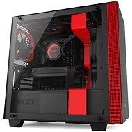 NZXT skriňa H400 čierno-červená - Počítačová skriňa