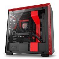 NZXT skriňa H700 čierno-červená - Počítačová skriňa