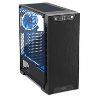SilentiumPC Armis AR3 TG-RGB Pure Black - Počítačová skriňa