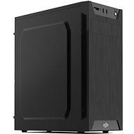 SilentiumPC Armis AR1 Pure Black - Počítačová skriňa