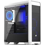 SilentiumPC skriňa Regnum RG4TF RGB Frosty White - Počítačová skriňa
