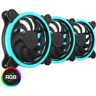 SilentiumPC Sigma HP Corona RGB Kit (3× 120 mm) - Ventilátor do PC
