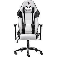 SilentiumPC Gear SR300 biela - Herná stolička