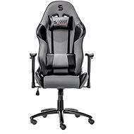 SilentiumPC Gear SR300 sivá - Herná stolička