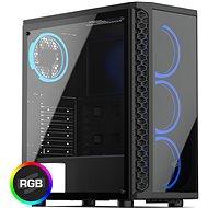SilentiumPC Signum SG1X TG RGB - PC skrinka