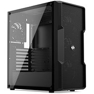 SilentiumPC Regnum RG6V TG Pure Black - PC skrinka